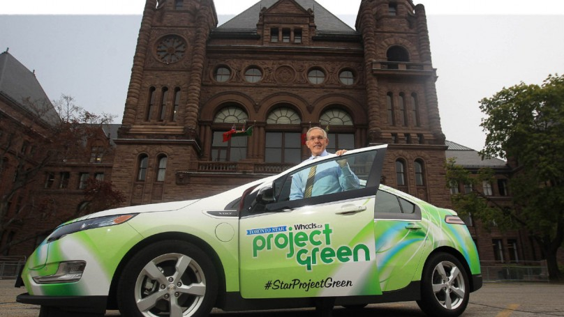 Ontario?s transportation minister has cars in his rearview mirror