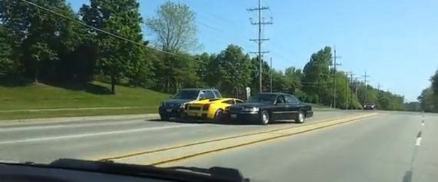 This Lambo driver proves a fat wallet does not make one a good driver