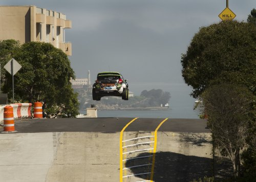 Flying high in San Francisco with Ken Block