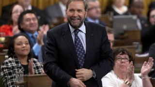 Mulcair a Civic-minded driver
