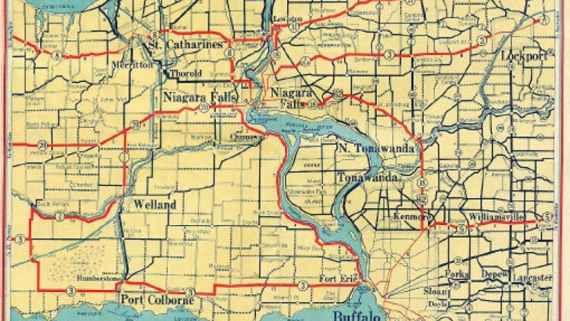 Before GPS, maps ruled the road