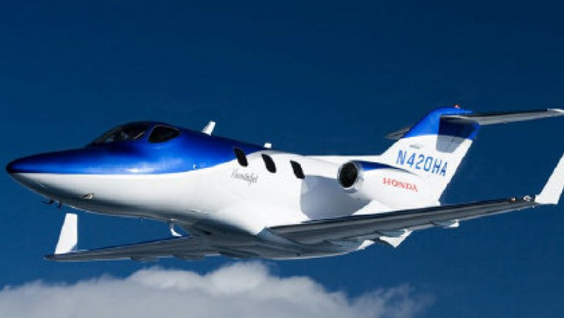 Honda's 'Civic of the Sky' takes off
