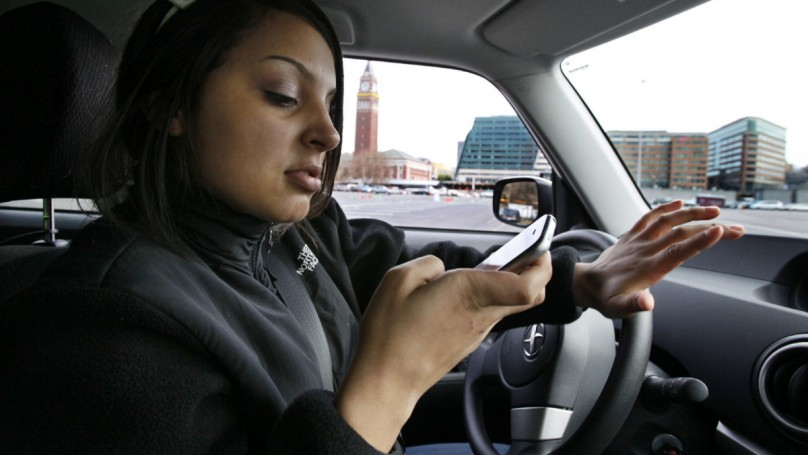 Teens text more while driving than parents think