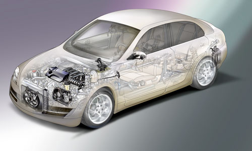 More plastic can decrease a car?s weight