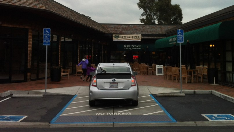 Insider Report: Prius driver takes arrogant parking to another level