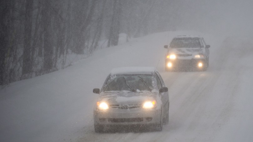 Never forget the 'Golden Rule' of winter driving