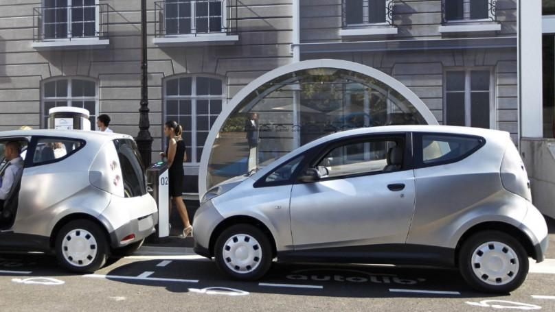 Car sharing goes electric