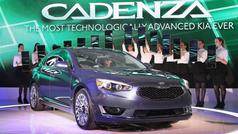 Detroit auto show: Kia moves into premium sedan market with Cadenza