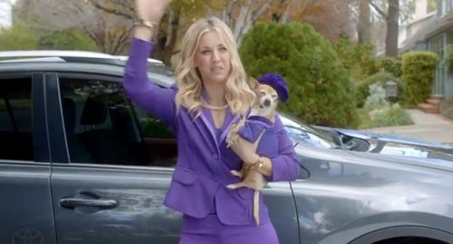 'Big Bang Theory' star Kaley Cuoco grants wishes for Toyota in Super Bowl ad