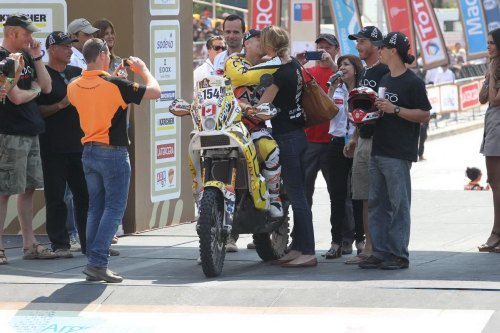Beaulé first Canadian to finish Dakar on two and four wheels