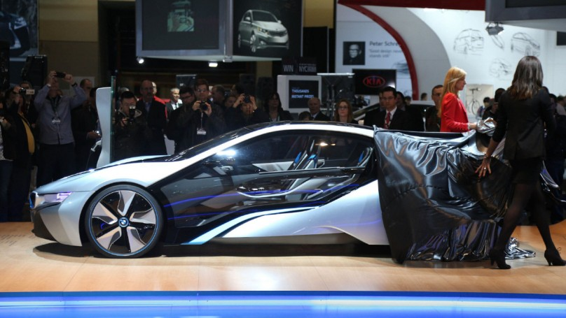 2013 Toronto Auto Show: Electricity's in the air at BMW booth