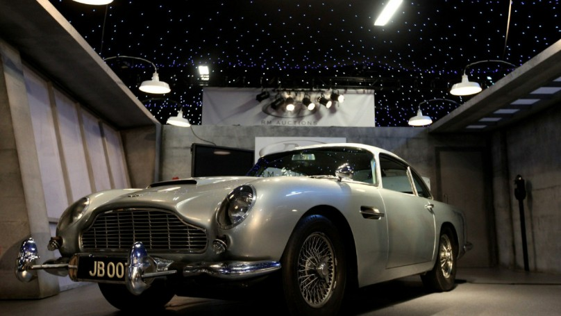 100 years of Aston Martin