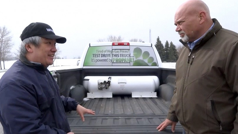 Sick of high gas prices? Propane could be the answer