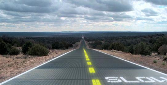 Futuristic glass roads could be the solution to our energy woes