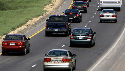 Tailgating in busy traffic: What exactly is the point?