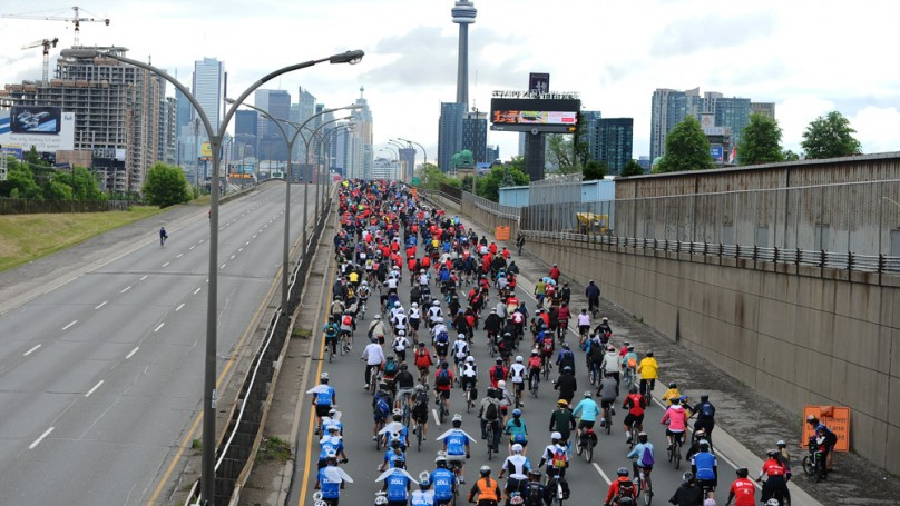 Charity bike rides are a great way to own the road for a cause