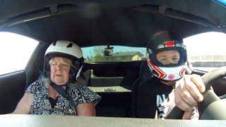 Insider Report: Mom freaks out during ride on the race track