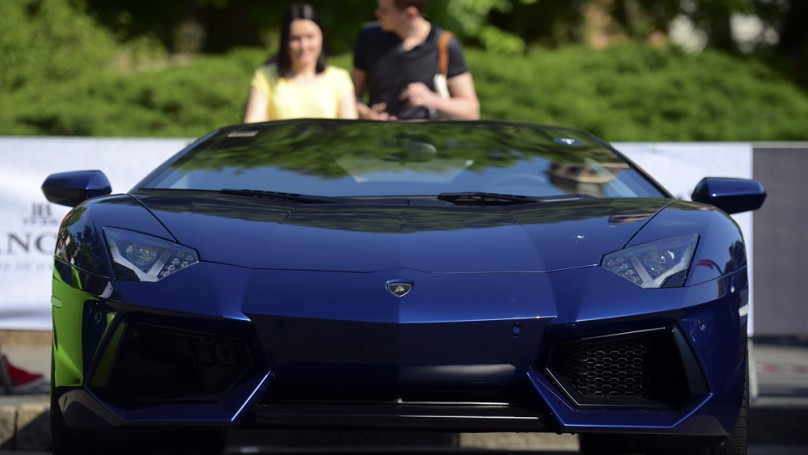 Lamborghini celebrates 50 years with road tour of Italy