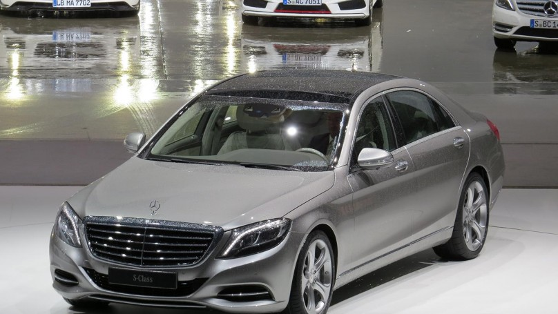 'S' is for stunning: Mercedes-Benz unveils S-Class sedan in Germany