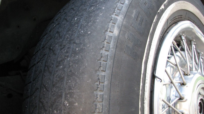 Cracked tires? They're toast