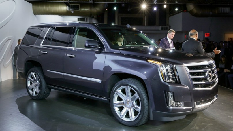 Preview: 2015 Cadillac Escalade