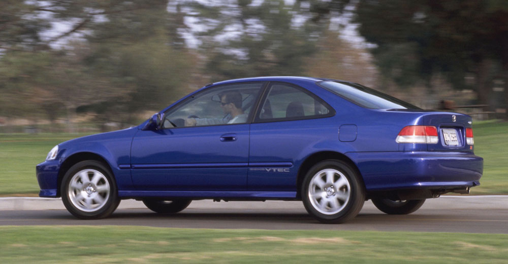 Honda Civic SiR tops Canada's most-stolen list
