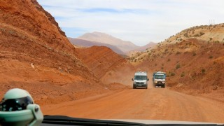 Off-roading it on the Marrakech express