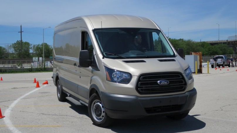 2015 Ford Transit -Newcomer is an instant contender