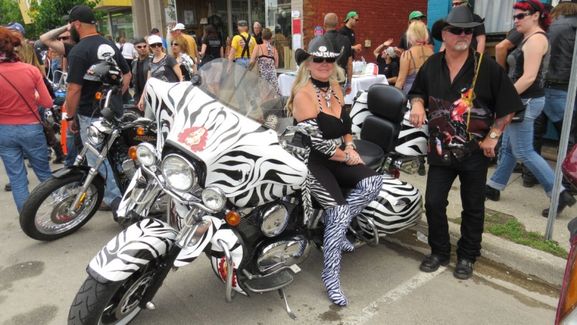Rallies transform quiet towns into motorcycle meccas