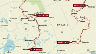 Riding the Ontario Highlands