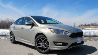 Ford Focus SE 2015 front