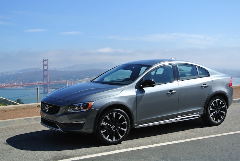 san francisco and the 2016 volvo s60 cross country. Black Bedroom Furniture Sets. Home Design Ideas