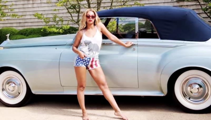Beyonce rolls royce