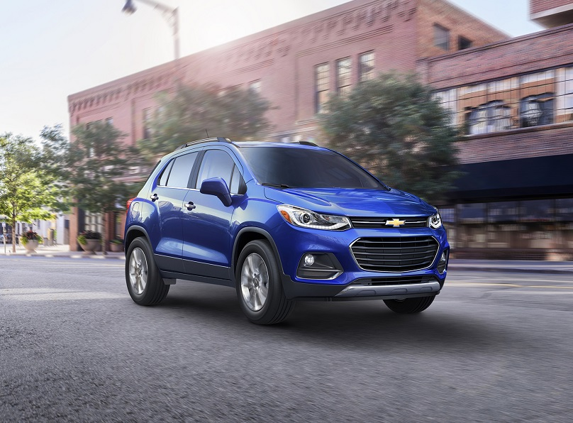 Chevrolet introduces a refreshed 2017 Trax