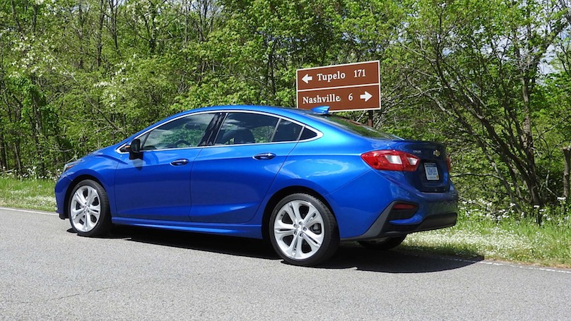 Chevrolet Cruze Ups The Ante In 2016 Wheels Ca