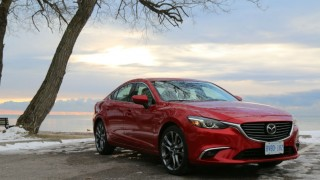 2016 mazda 6 gt front