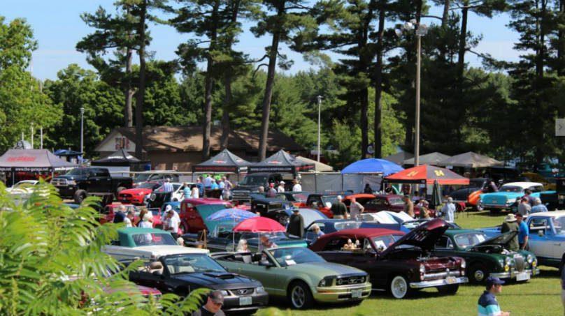 gravenhurst car show