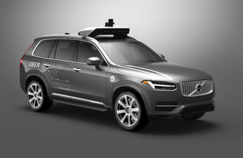 Volvo teams with Uber