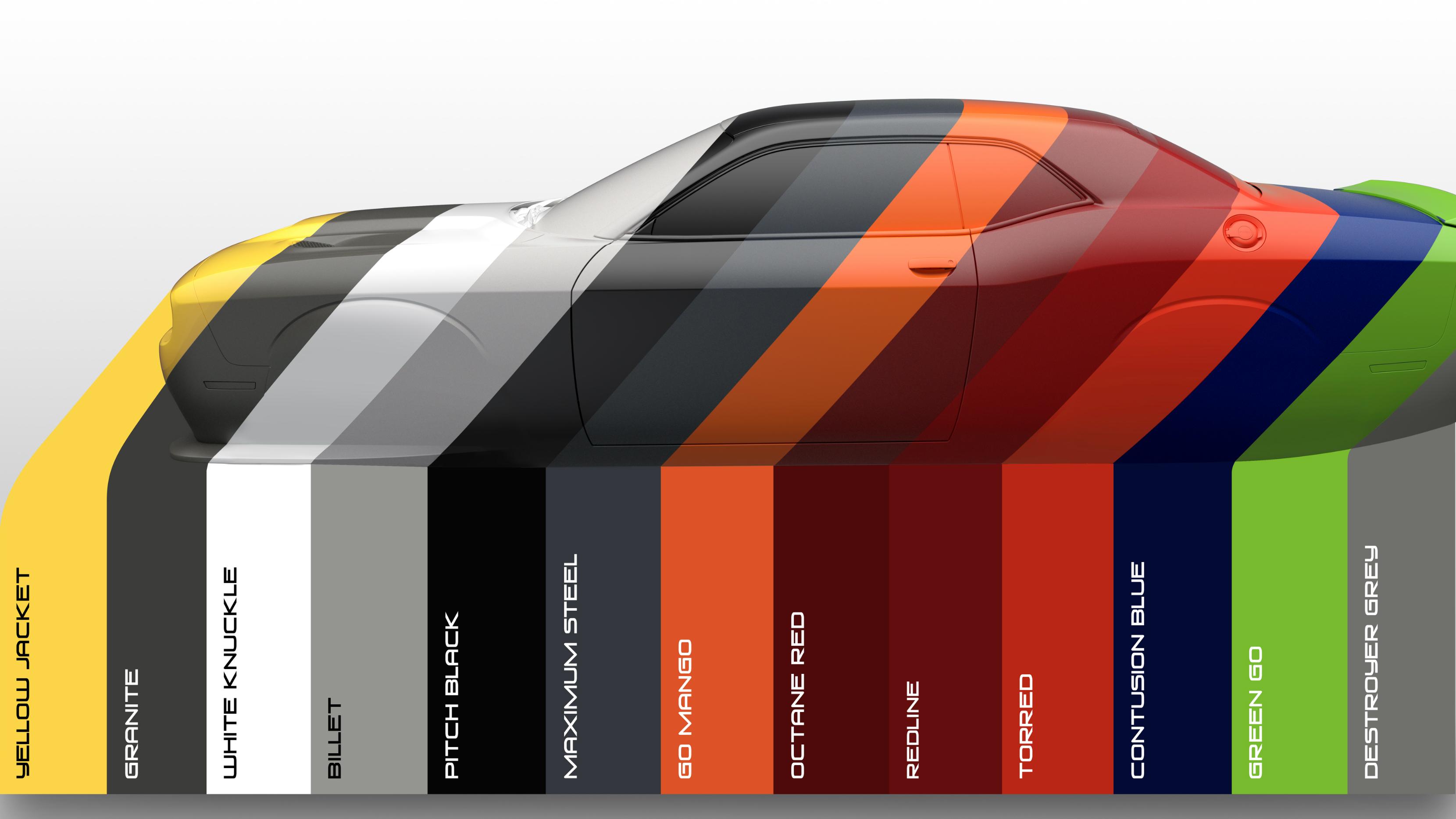 2017_Dodge_Challenger_colors