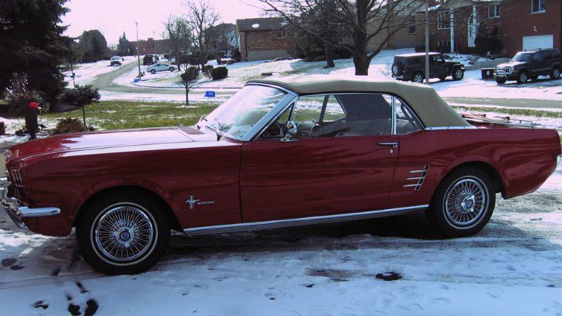 1966 Mustang convertible