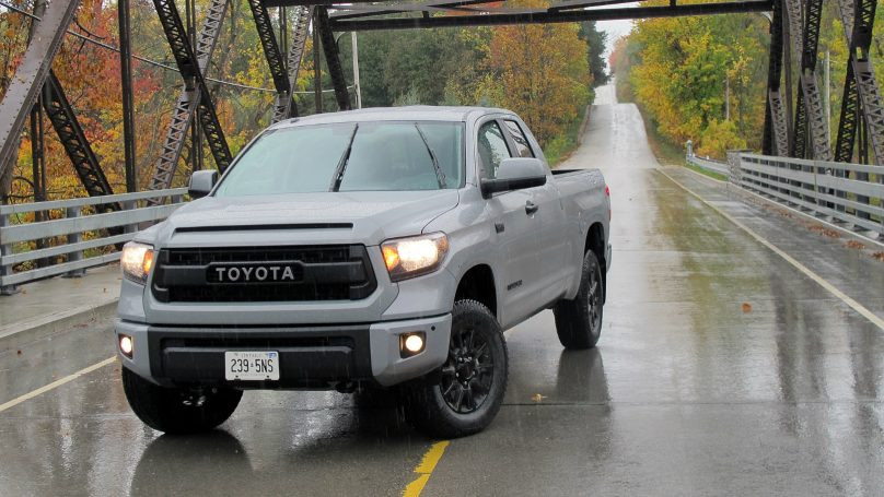 Tundra Goes Full Off Road With Trd Pro Wheels Ca