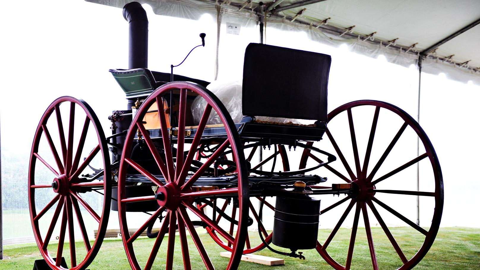 seth taylor steam buggy