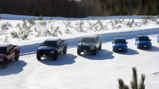 Ford Focus RS + Raptor Winter Ice