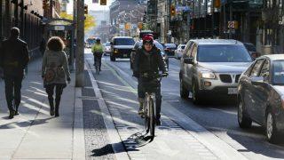 cycling bike lanes