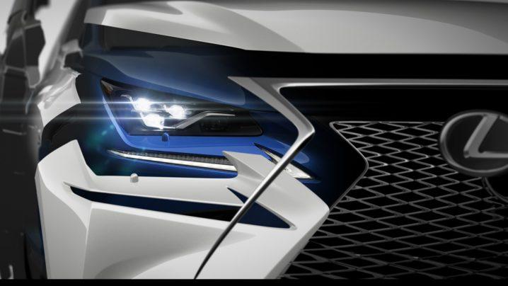 Lexus NX at Shanghai