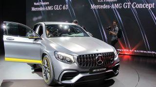 Mercedes-AMG GLC S Coupe 63
