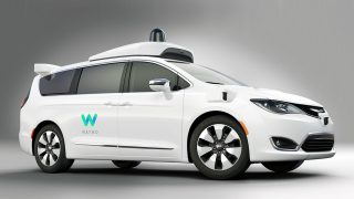 Chrysler Waymo self drive fleet