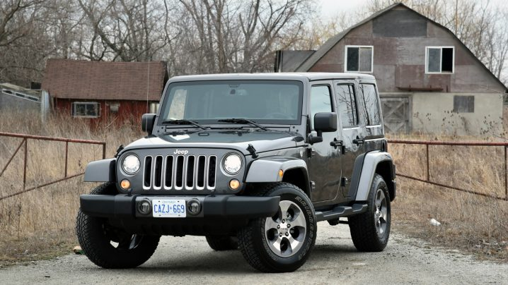 Jeep Wrangler Unlimited Sahara review