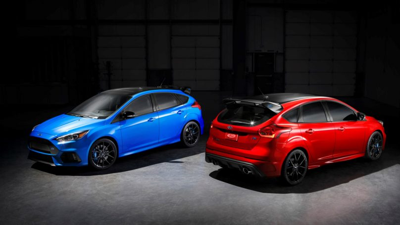 Limited Edition Focus RS