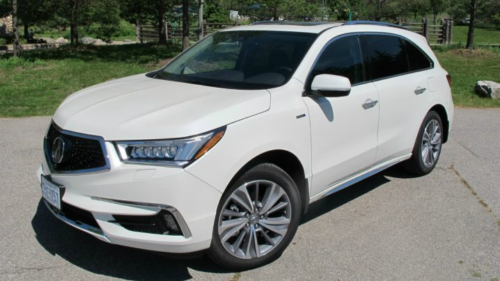 2017 Acura MDX Sport Hybrid Review